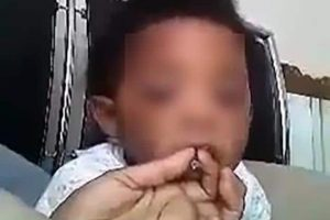 Watch: Raleigh baby smoking marijuana leads to mom's arrest