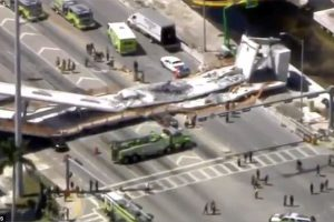 Who's to blame? FIU bridge collapses less than week after 'rapid completion'- multiple deaths.