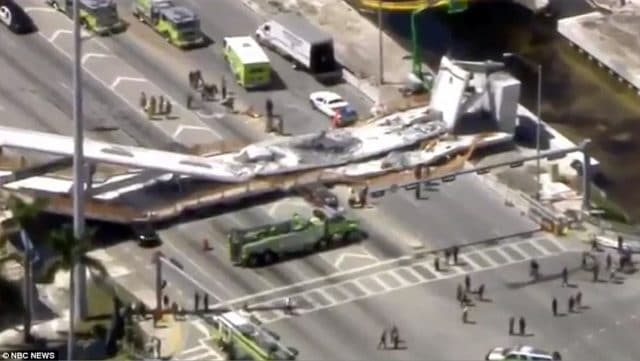 FIU bridge collapses