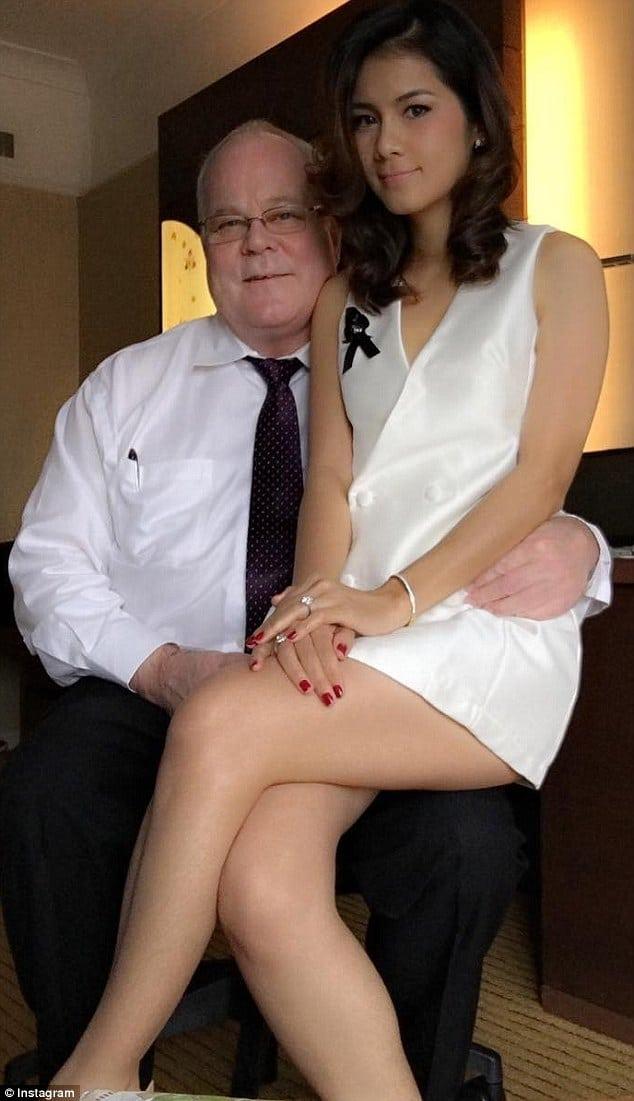 Nong Nat a Thai adult movie star divorces Harold Jennings