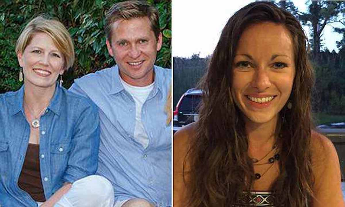 Jennair Gerardot and husband, Mark Gerardot and his wife's alleged love rival, Meredith Chapman