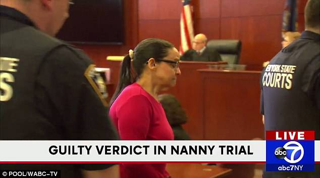 Yoselyn Ortega guilty