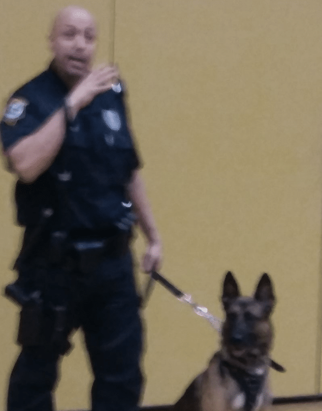 Brian Valenti Coconut Creek K-9 police officer