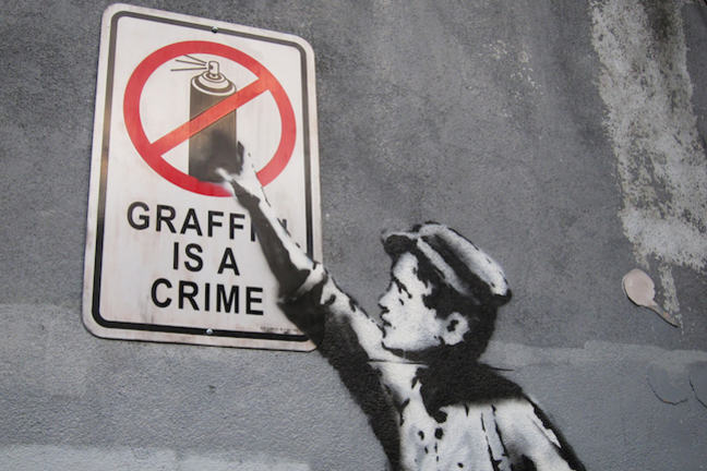 Graffiti Art or Vandalism writing essays
