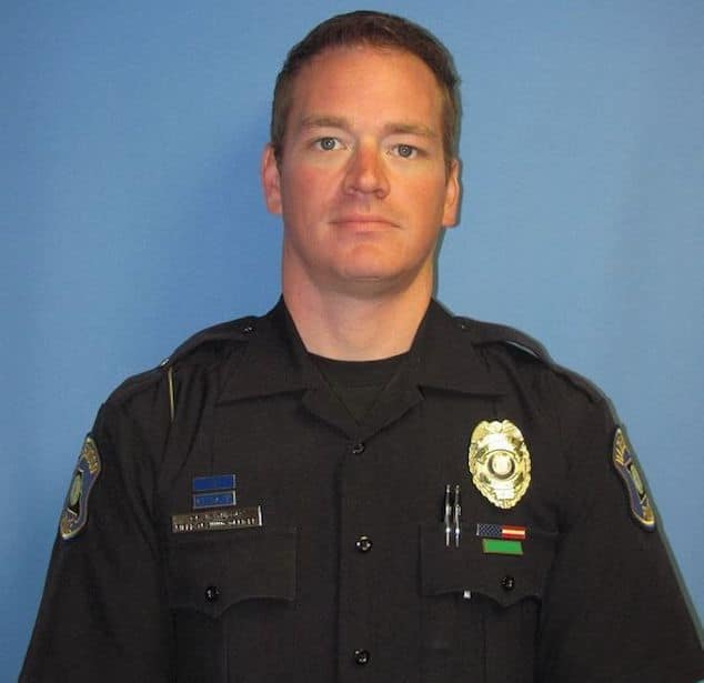 Hazelwood Police Officer Craig Tudor.