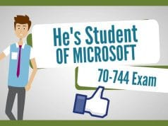PassIng The Microsoft MCSA 70-744 Exam