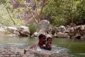 Watch: Three Indian men accidentally film themselves drowning in pond