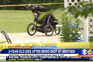 'I thought it was a toy' Four year old Louisa toddler accidentally shoots two year old brother dead