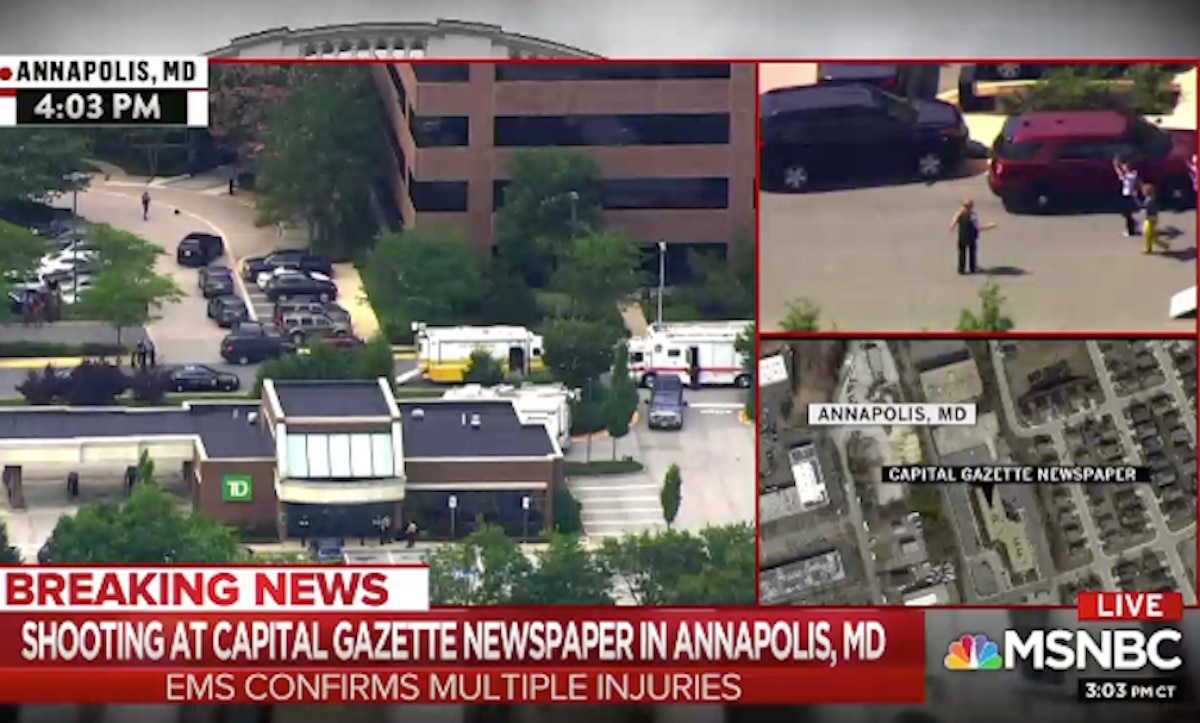 Annapolis newsroom shooting