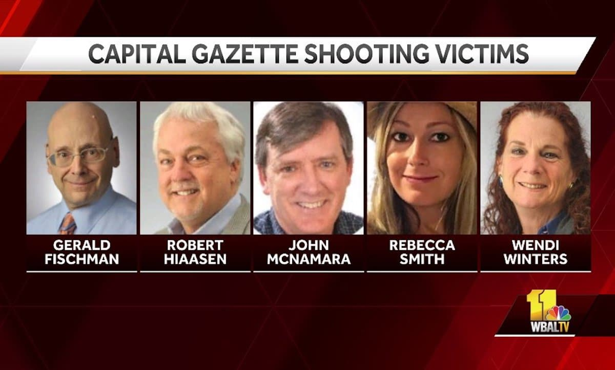 Capital Gazette shooting victims