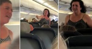 Spirit Airlines passenger meltdown