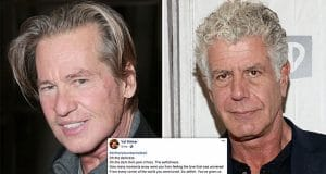 Val Kilmer Anthony Bourdain suicide selfish