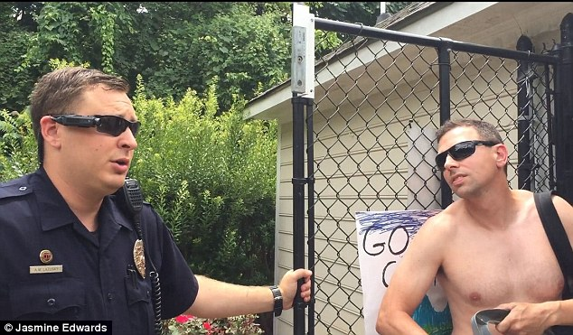 Man who challenged black family's use of pool loses job