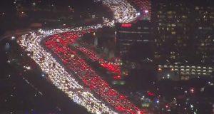California traffic jams