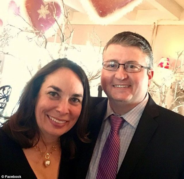 Jennifer Morzano and Jim Guinee