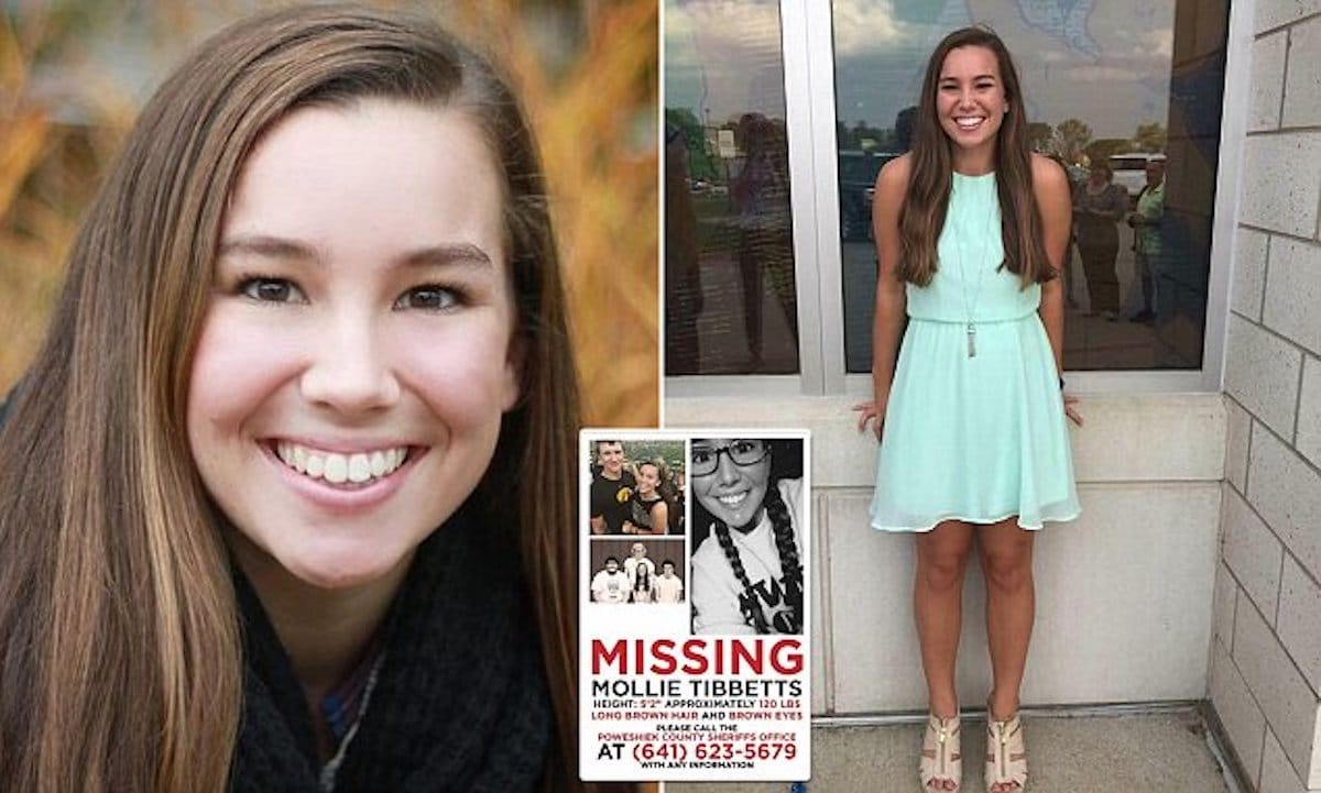 Mollie Tibbetts missing