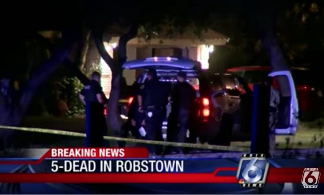 Robstown murder suicide