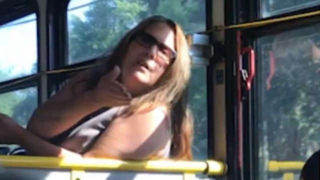 Rockland County racist bus woman