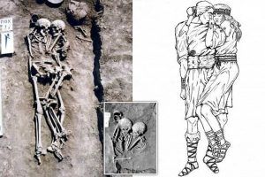 Ukraine couple grave burial site: 3000 year old woman made ultimate sacrifice