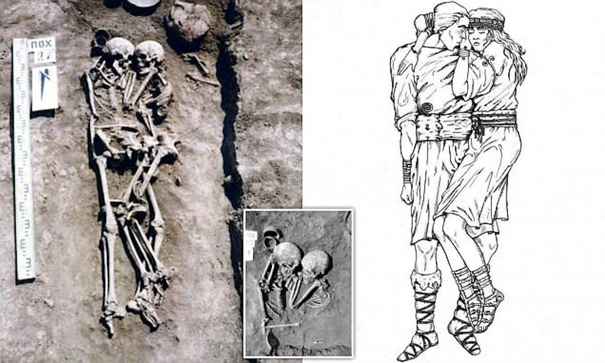 Ukraine burial couple