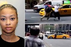History of assault: Female NYC cab driver charged with road rage after attacking SUV couple