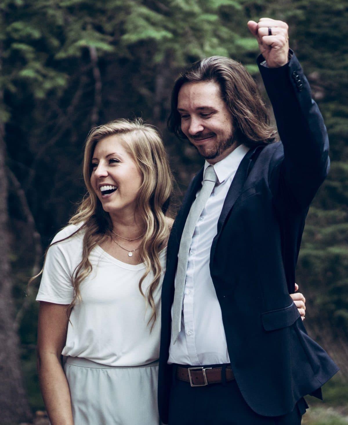 Amy Moffatt and Stephen Graham
