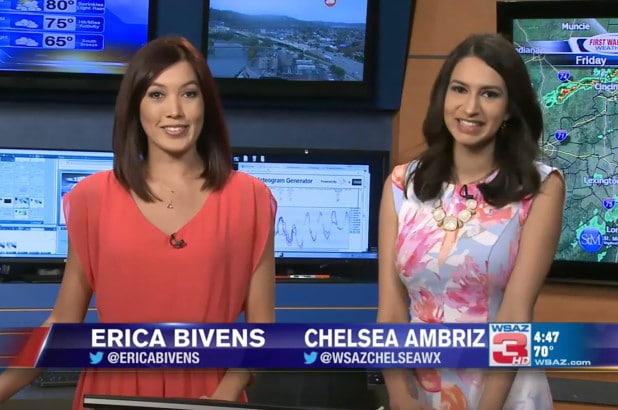 Erica Bivens and Chelsea Abriz