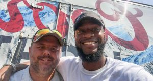 Jason Gable and Kwame Anderson