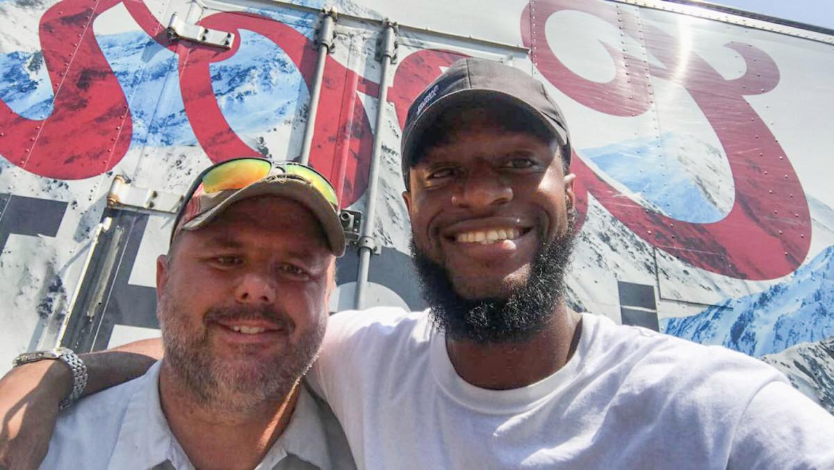 Jason Gable and Kwame Anderson