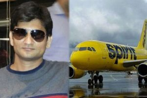 Indian man who sexually assaulted sleeping Spirits Airlines female passenger (with wife unaware) convicted