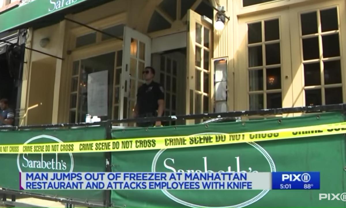 Sarabeths restaurant attack