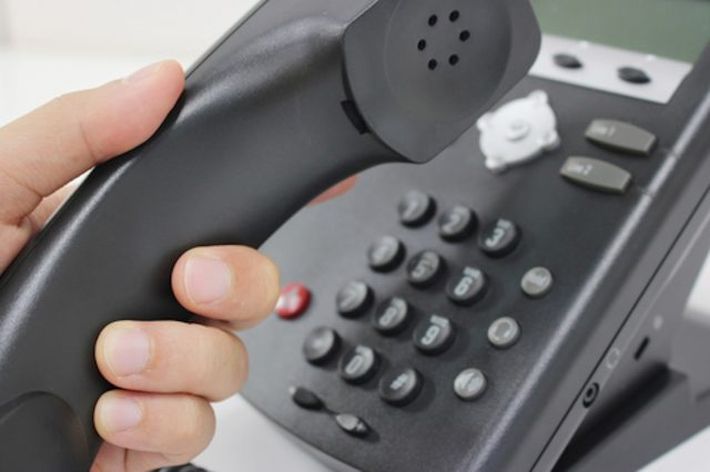 caller ID.