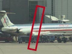 dead fetus American Airlines