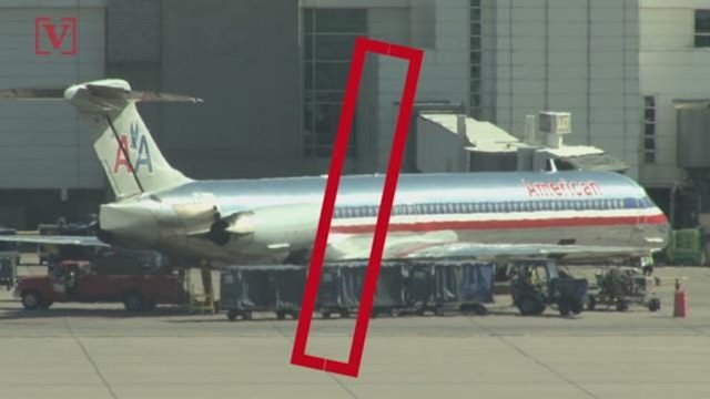 dead fetus American Airlines