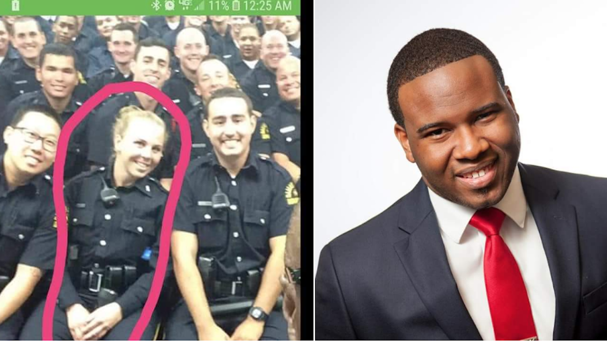 Amber Guyger and Botham Shem Jean