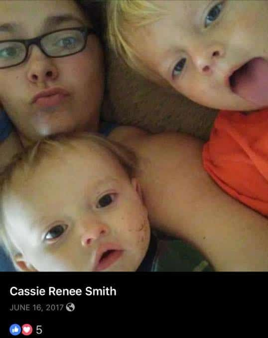Cassie Smith and Daniel Theriot