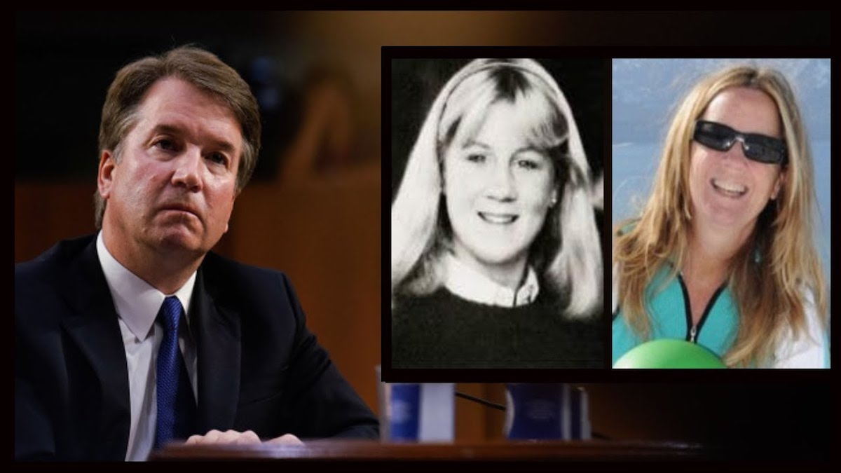 Image result for photos of kavanaugh christine blasey ford