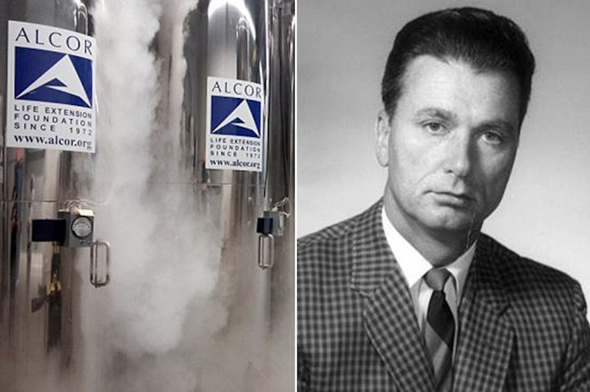 Arizona cryogenics firm sued
