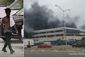 'I'm sorry' Kings Plaza fire suspect arrested in Brooklyn car park blaze