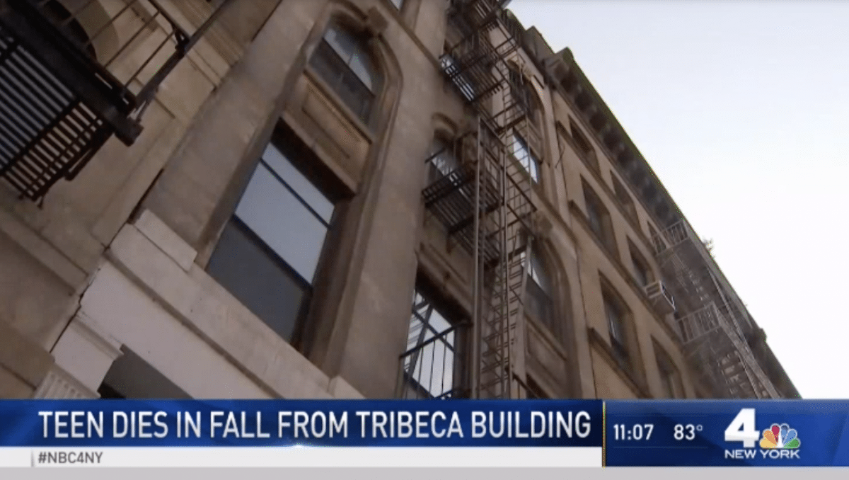 Teen Girl Dies After Falling From Fifth-Floor Lower Manhattan Fire Escape