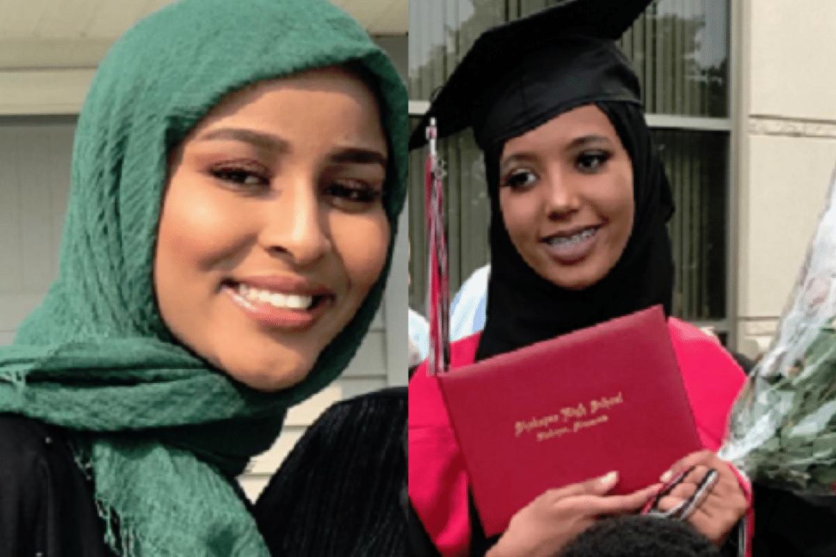 Bushra Abdi and Zeynab Hafsa Abdalla,