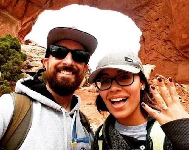 Josh Byrne and Bianca Merritt