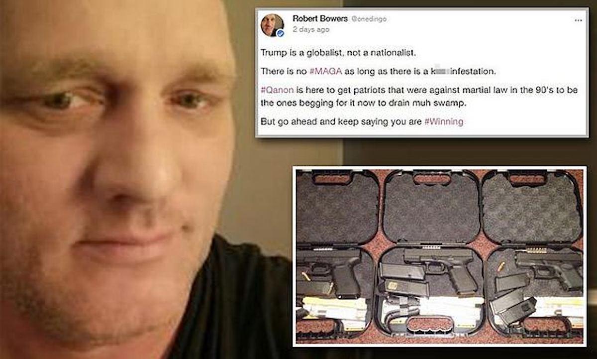 Robert Bowers social media