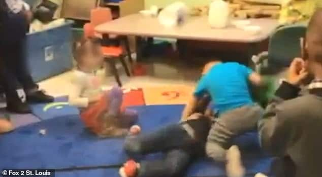 St Louis daycare fight-club