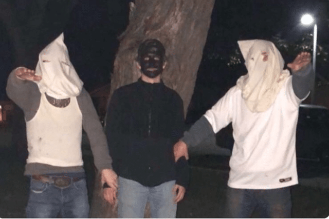 Rochester Public School racist KKK costumes