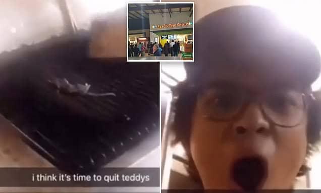 Teddy's Bigger Burgers rodent rat