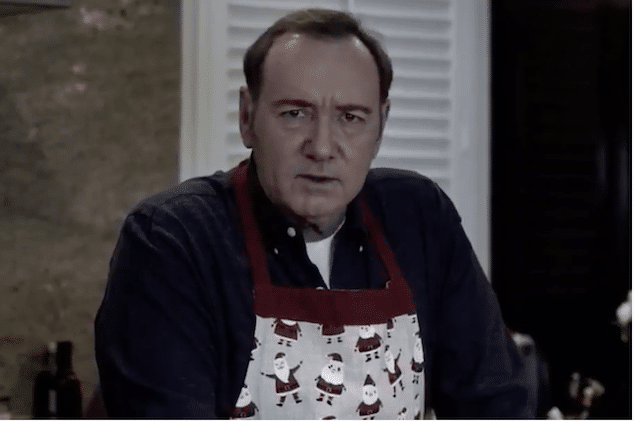 Kevin Spacey Frank Underwood video