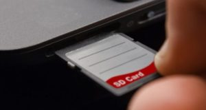 remove write protection from SD card