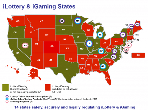 Gambling and the Law in USA.