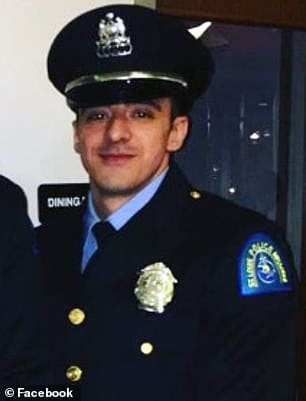St Louis Officer Nathaniel Hendren